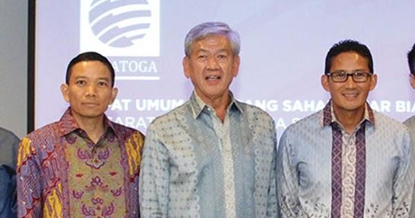 SRTG SRTG | Edwin Soeryadjaya Membeli Saham Saratoga (SRTG) Senilai Rp 85 Miliar