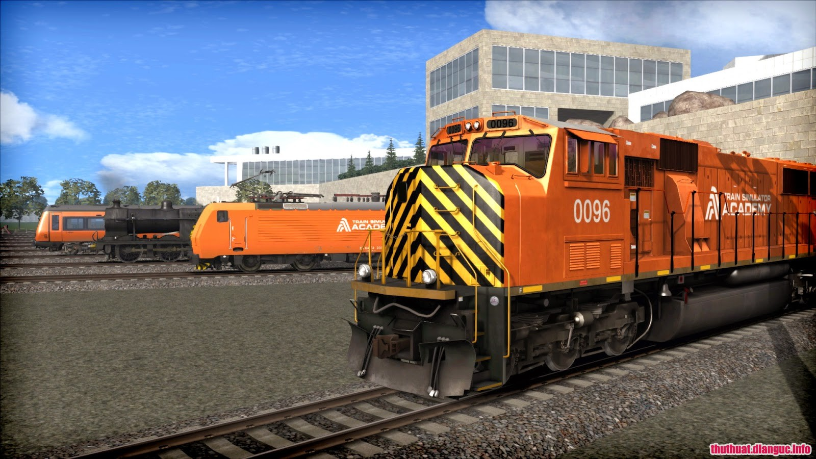 Tải game Train Simulator 2015 miễn phí,