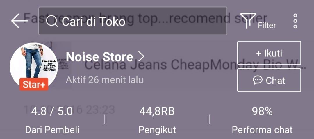 Noise Store - Toko Jaket Jeans Terbaik