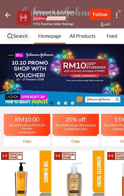 Lazada Super Beauty Day Shop With Voucher
