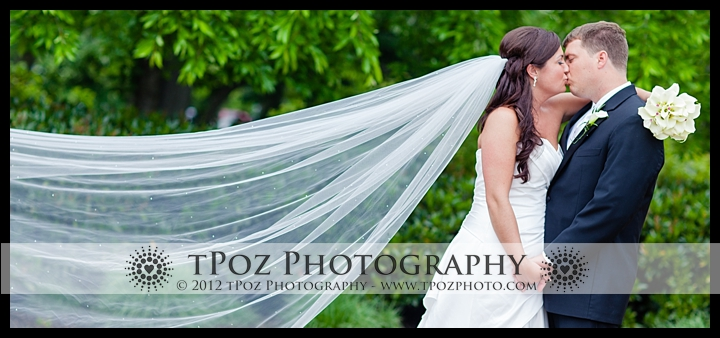 Philadelphia Art museum wedding bride and groom sweeping veil