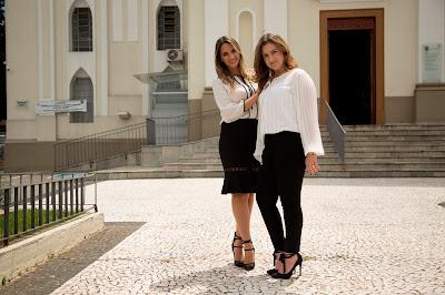 Giuliana Cohen e Marcia Possik - Divulgação