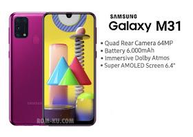 Firmware + Cara Flash Samsung M31 SM-M315F