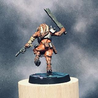 Blackstone Fortress Chaos Beastman - back