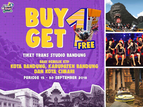 Promo Trans Studio Bandung September 2018