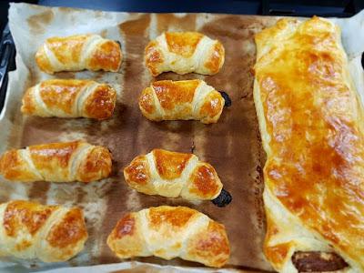 Croissants  y hojaldre de Kinder Bueno y Nutella