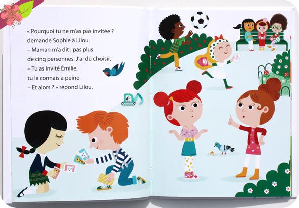 Collection Mes Premières Lectures Hachette : Lilou et Malo - L'invitation
