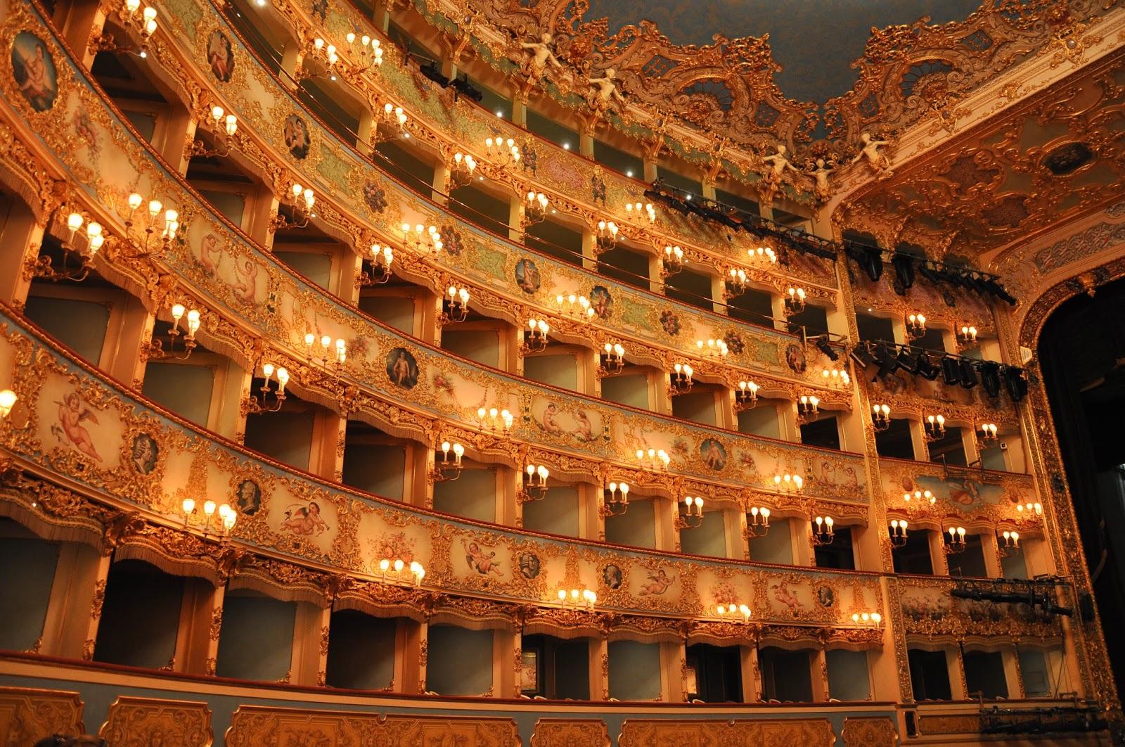 The boxes, La Fenice, Venice, Italy
