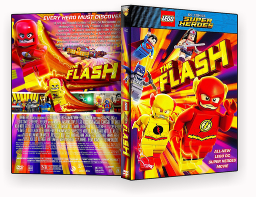 Lego DC Comics Super Herois O Flash 2018 – OFICIA