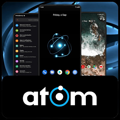 Atom-OS Android 10 Redmi Note 7