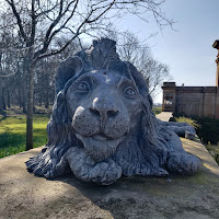 Lion Statue at Gosford House