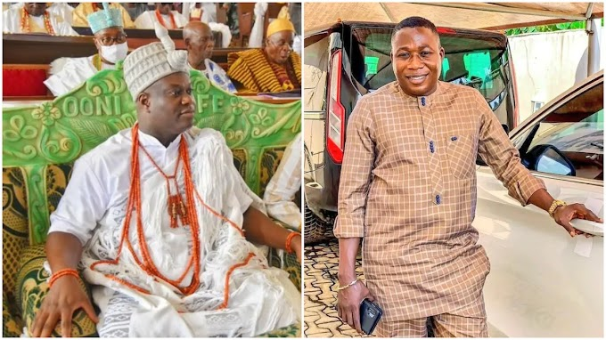 You made irresponsible allegations against me, Ooni replies Sunday Igboho.