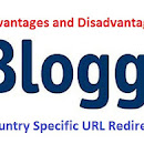 Blogger's Blogspot Country Domain Redirection | Advantages & Disadvantages
