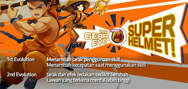 Super Helmet Evolution Lost Saga Indonesia