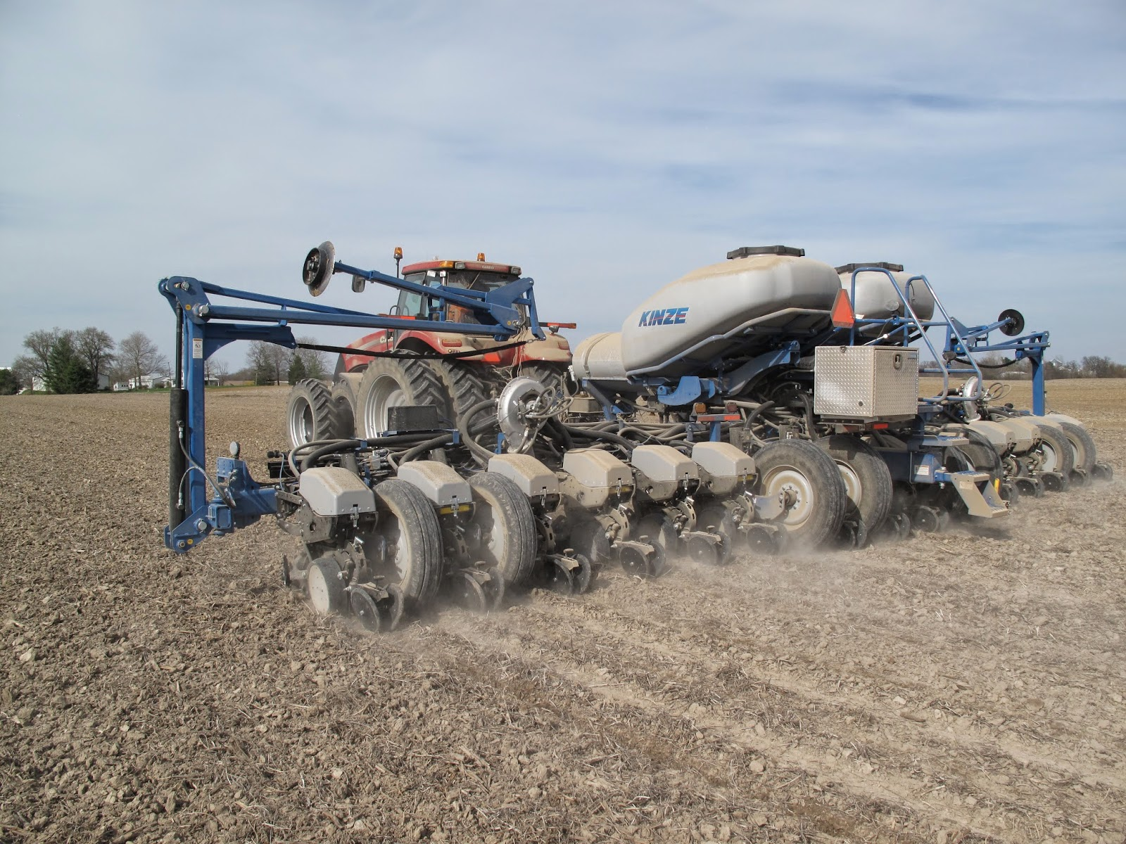 Think Burrus Blog Update From Tom Burrus About Kinze 4900 Electric