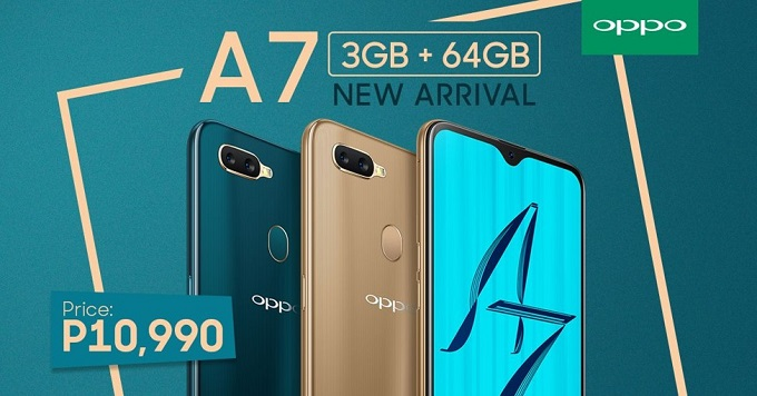 OPPO A7 3GB RAM Philippines