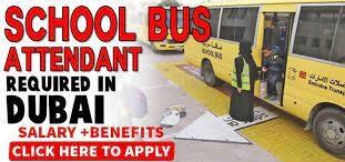 School Bus Attendants and Cleaners Job Recruitment in Dubai, UAE