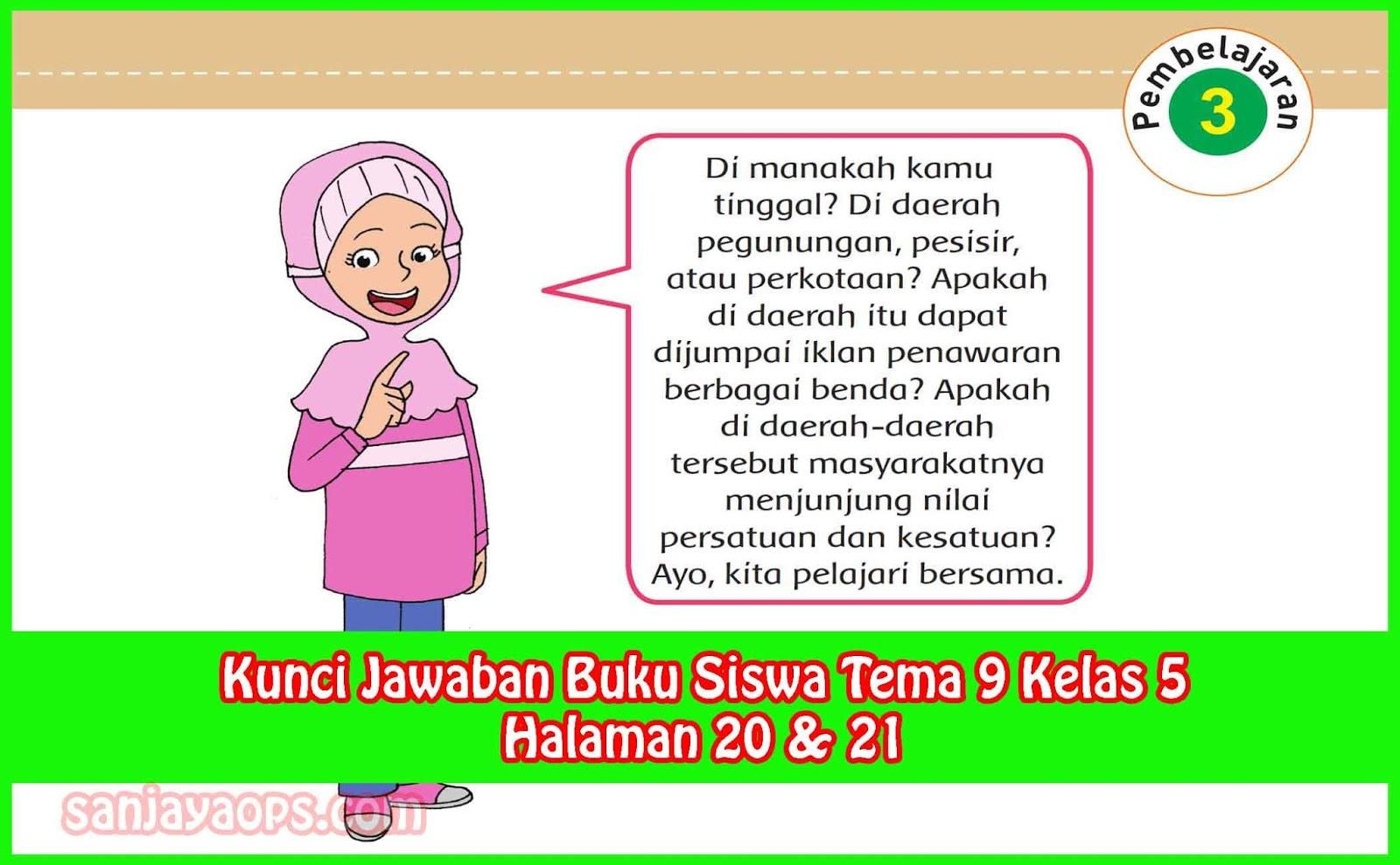 Jawaban Buku Paket Bahasa Jawa Kelas 9 Halaman 4 Semester 1