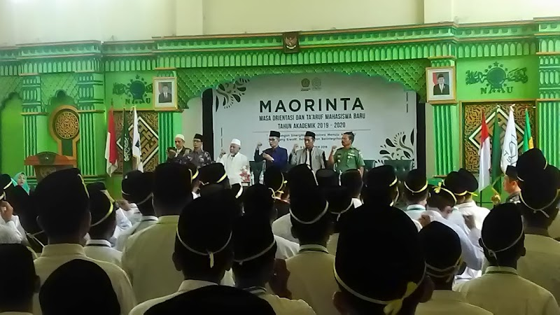 Danramil 02/Pohjentrek Hadiri Maorinta Mahasiswa Baru ITSNU Dan STAIS Pasuruan