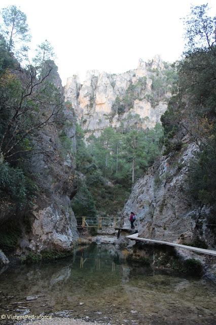 Beseit, Terol, Aragó, ruta senderista, trekking, natura,