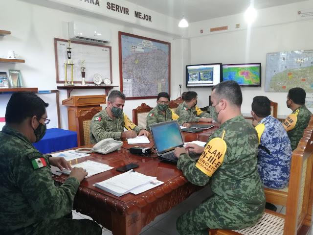 Ejército despliega soldados en Peto parea auxiliar a la población