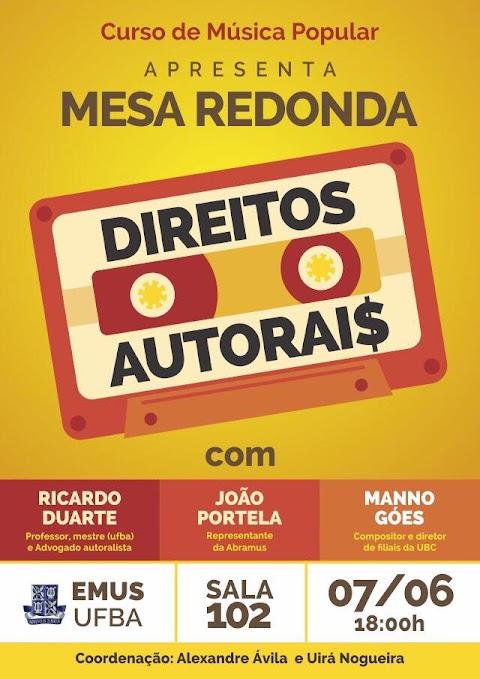 "#DesdeEmTrânsito: mesa-redonda ""Direitos Autorais"""
