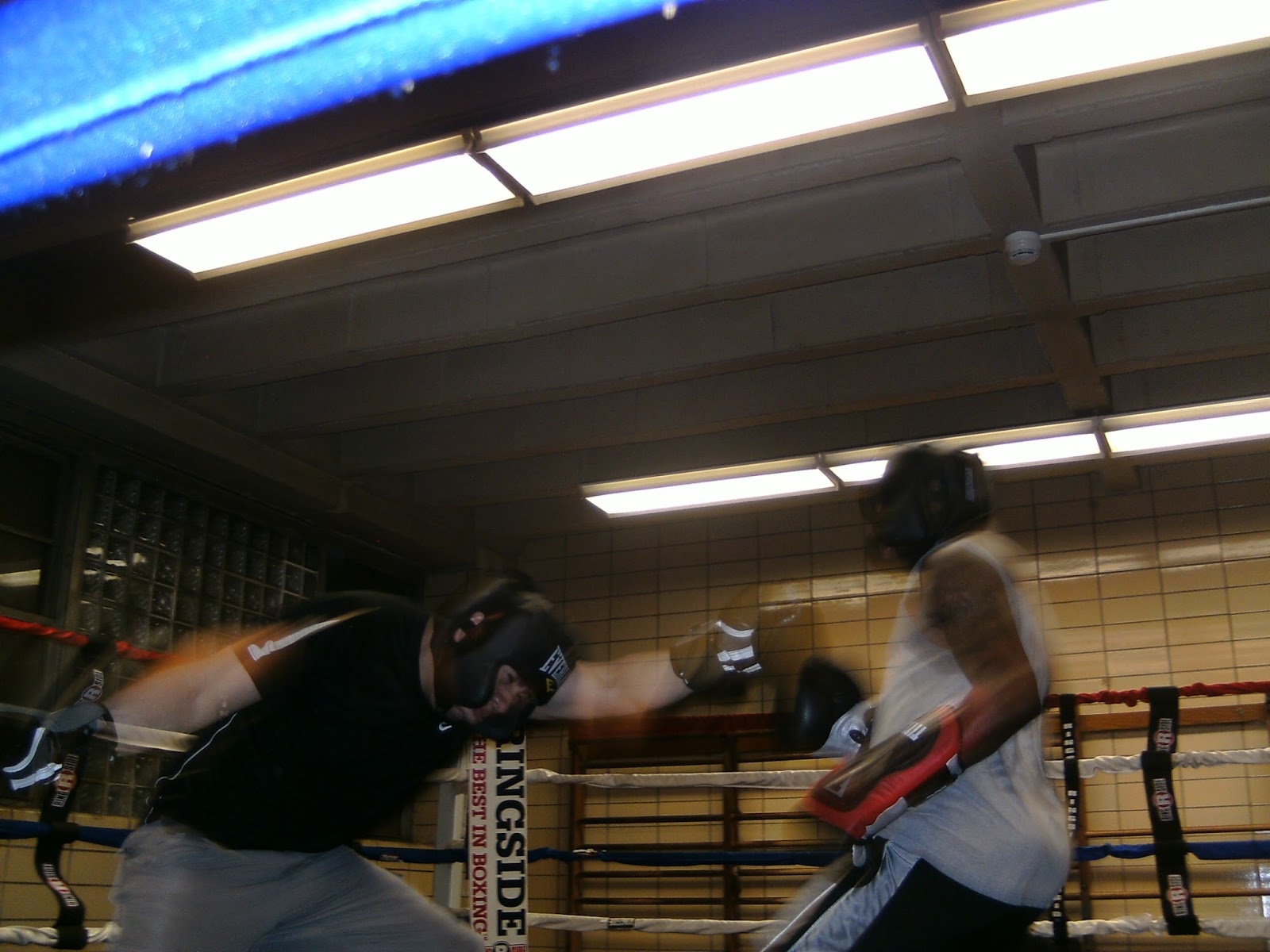 Boxing mid life steam bath gym