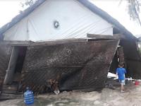 Gegara Persoalan Administrasi, Korban Bencana Puting Beliung di Kalmas Terabaikan