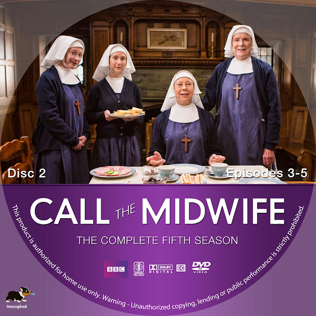 Call The Midwife Season 5 Disc 2 DVD Label