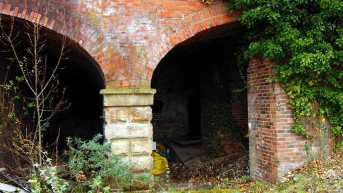 Derelict viaduct  Near Gould/Back Georges Rd Manchester