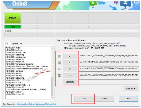 menambahkan file binary samsung m11