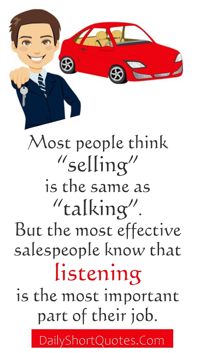 Sales Motivation Quotes | Best Selling Quote