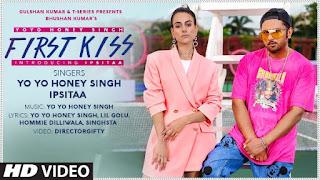 फर्स्ट किश First Kiss Lyrics in Hindi - Yo Yo Honey Singh