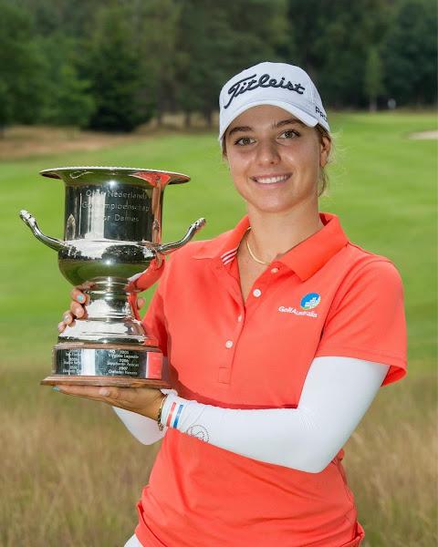 Golfer Stephanie Kyriacou