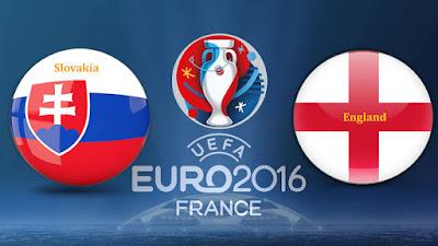 """""""يورو 2016"""" نتيجة وملخص اهداف مشاهدة مباراة انجلترا وسلوفاكيا بث مباشر في اليوم 20-6-2016"""