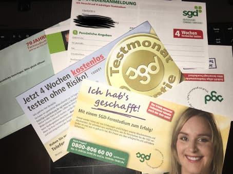 اثبات وصول مجانيتين بطاقات بريدية deutscher bundestag وتذاكر من Sgd وأشياء أخرى من ألمانيا