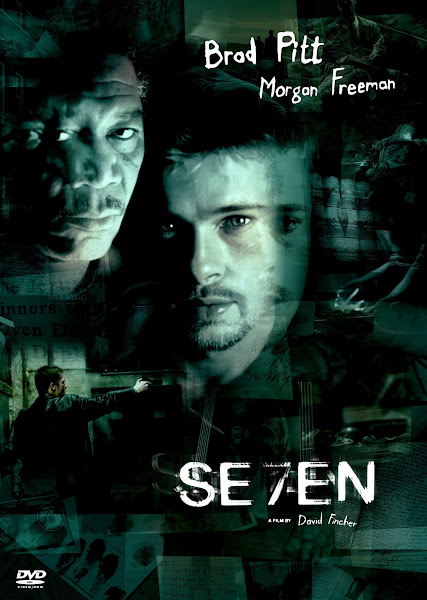 Poster Of Se7en 1995 720p Hindi BRRip Dual Audio Full Movie Download