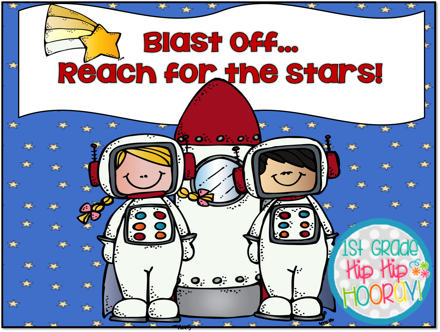 Image result for blast off reach for the stars