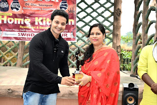 किचन क्वीन आफ द जौनपुर का पहला खिताब सीमा गुप्ता के नाम | #NayaSaberaNetwork