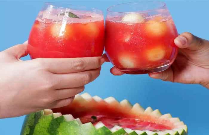 Resep Cara Membuat Punch Semangka (watermelon)