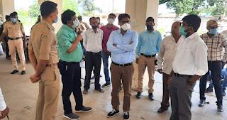 कलेक्टर श्री कुमार पुरुषोत्तम ने जावरा में तैयारियों का निरीक्षण किया