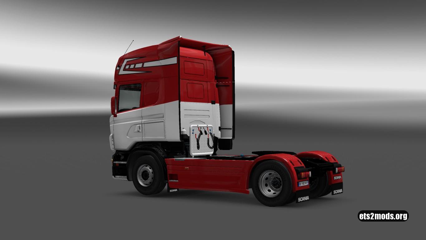 Dutch Beauty Skin for Scania RJL
