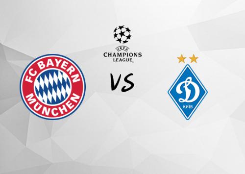 Bayern de Múnich vs Dinamo Kiev  Resumen y Partido Completo