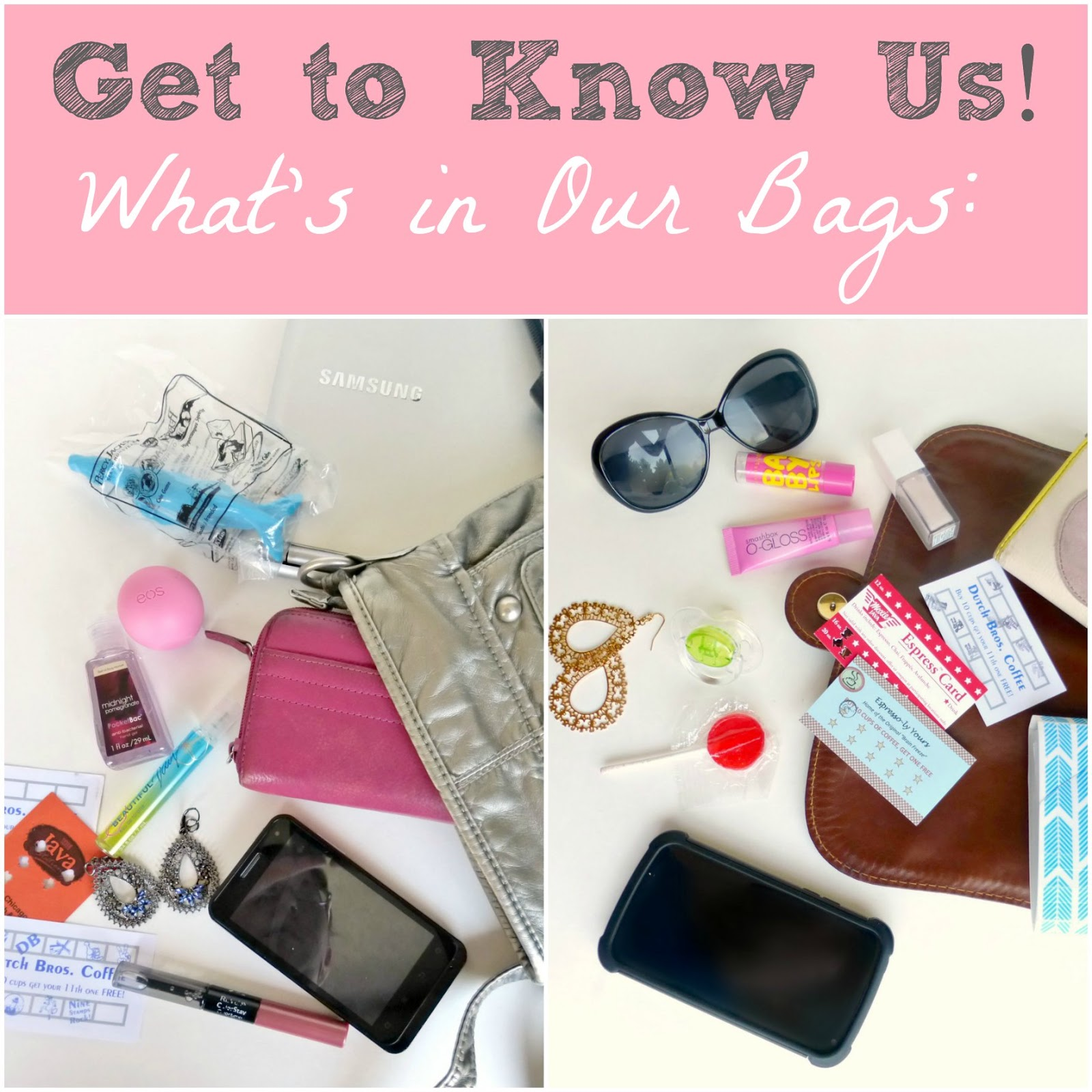 a look inside our everyday bags