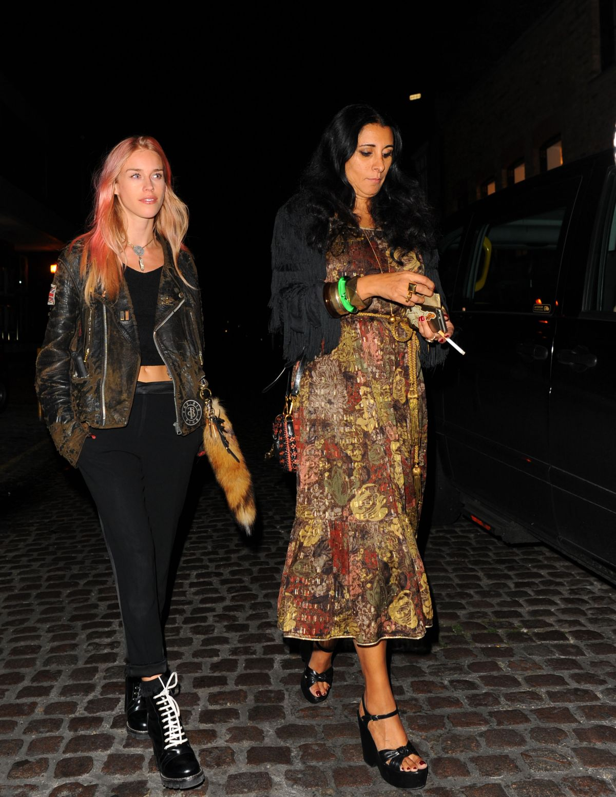 Mary Charteris At Chiltern Firehouse In London