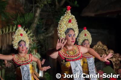 Bailarinas de Legong