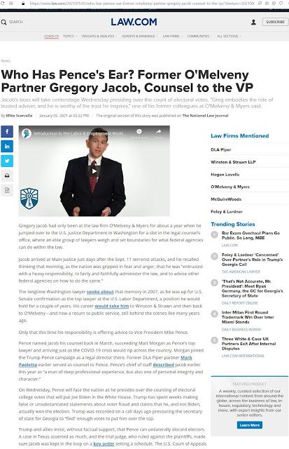 Greg Jacob O'Melveny & Myers