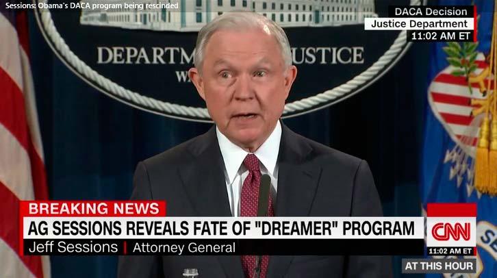 Trump pone fin al programa que impide la deportación de 800.000 dreamers
