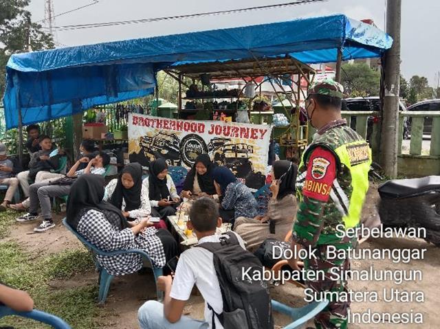 Protokol Kesehatan/PPKM Skala Micro Dilaksanakan Personel Jajaran Kodim 0207/Simalungun Diwilayah