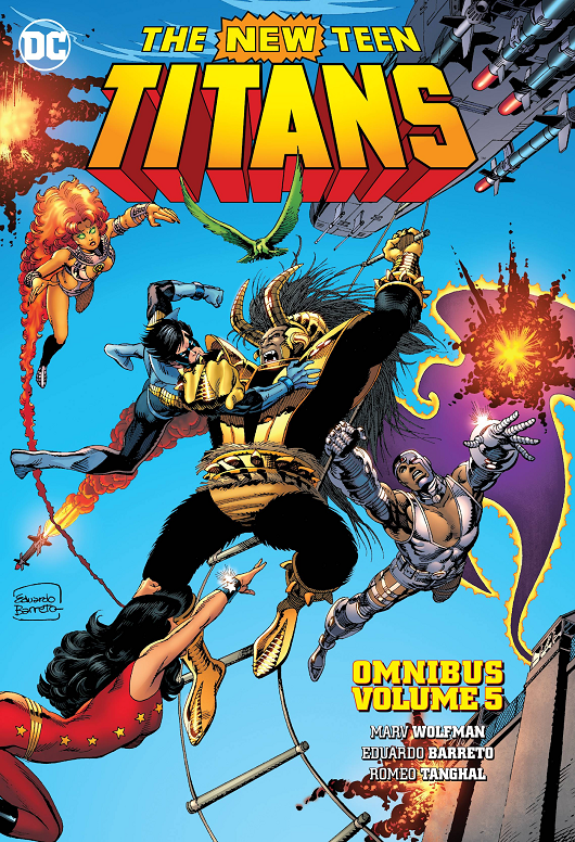 Cover of New Teen Titans Omnibus Vol. 5 HC